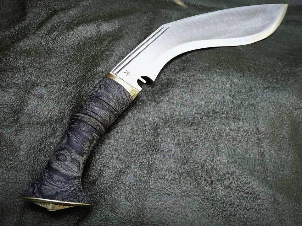 kailash micarta wrap handle